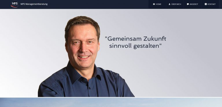 Webseite Managementberatung
